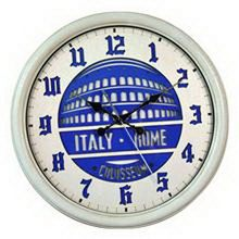 High quality new products northern europe high quality decoration round wood crafts wall clock