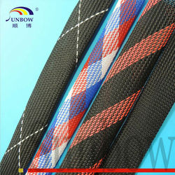 SHENZHEN Factory Wearproof Heat Resistant Sleeving Expandable PET