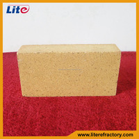 manufacture top quality high refractoriness refractory fire clay brick for pizza oven