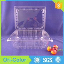 Plastic fruit and vegetables packaging boxes