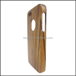 not carved zebra wood new cell phone cases 2014 for iphone5
