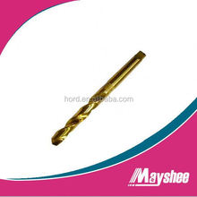 industry quality HSS tin coated drill bit