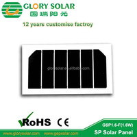 1.65W Sunpower small solar panel made by solar panel custom factory