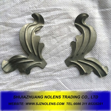 popular decorative Stamped Iron Rossets,Stamping Iron Sheet Ornaments