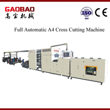 Full Automatic A4 Paper Cutting Machine With Auto Packaging High Performance High Quality Flexible