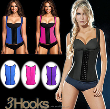 Top Quality latex vest waist, Women sexy slimming underbust corset body shaper for fat burning waist Cincher corsets Wholesale