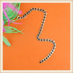 Manufactor Hot Selling Fashion Various Metal new gold chain design for garment/dress/belt