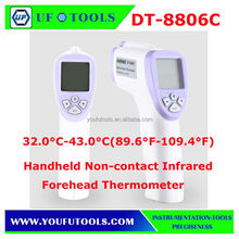 Handheld DT-8806C Non-contact Infrared Body Thermometer Forehead Instant-Read Digital Thermometer Gun Precise Temperature Gauge