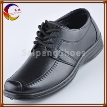 2014 elegant made in China injection shoes man PU leather shoes