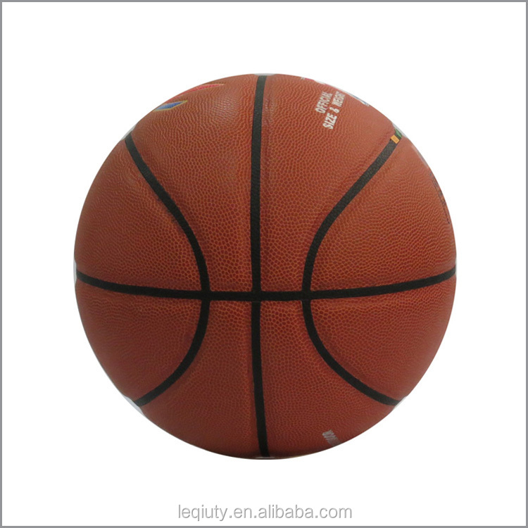 High grade pu material basketball promotional ball buy for How much to build a basketball gym