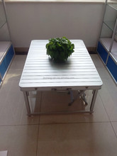 aluminum box change to table and chair