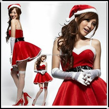 China factory christmas cosplay women costume