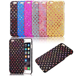 Luxury Glitter star Case for iphone6 Plus 5.5inch Shining Hard Back Plastic Cover Cell Mobile Phone Skin For iphone 6 4.7inch