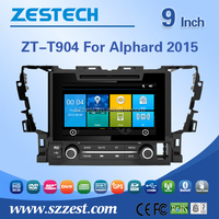 double din OEM factory new for toyota alphard with headunits car dvd stereo navigation