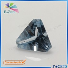 FACETS GEMS 9*9mm Density 3.6 g/cm3 106# Spinel Triangle Cut Corner Buy Sapphire Burma Wholesale