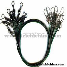 Hot selling Barrel swivel with interlock snap and wire leader