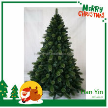 2015 new design hot sale spiral christmas tree with decoration