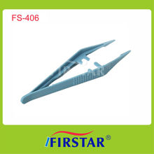 Conform to the CE standard disposable medical plastic tweezers