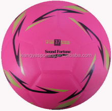 fluorescence PVC laminated futsal ball