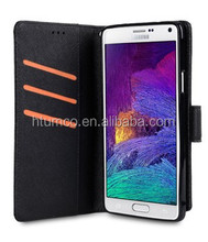 Wholesale phone case,PU case,wallet case for Samsung Galaxy note 4