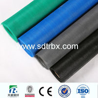 PVC Coated Green Color Window Screen
