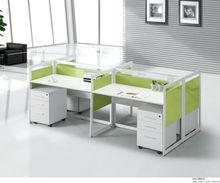 HJ-9923 commercial modern 4 people office desk