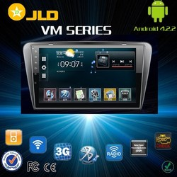 Android 4.2 car audio gps navigation system for NEW SKODA OCTAVIA