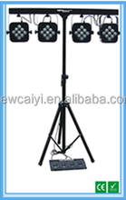 Hot Sale 110W 3 in 1 Multi Funtion Mobile Disco 4 Par Set