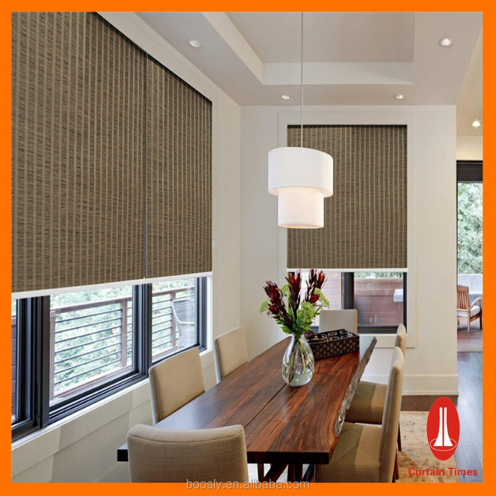 High quality blackout motorized roller blinds electric for Motorized blackout roller shades