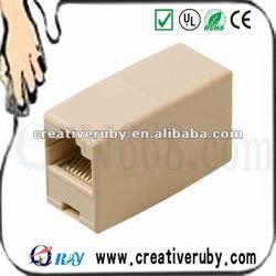 RJ45 F/F LAN Network Inline Splitter Extender Coupler/direct connection adapter
