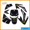 motorcycle decorative stickers dirt bike CRF50 sticker design Motorcycle Parts and Accessories dirt bike sticker design