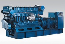 dual-circuition water-cooling marine generator 100kw with CCS, RINA, BV