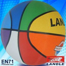 Rubber made Official size brilliant school basketball