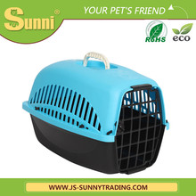 Cat dog carrier plastic high quality acrylic pet cage