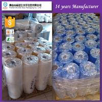factory custom printing pvc shrink wrap packing film roll