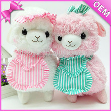 2015 mascot soft sheep toy stuffed baby plush toy lamb