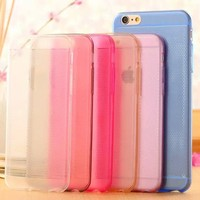 For iPhone 6 4.7 Hot Sales TPU Dot Back Soft Mobile Phone Case