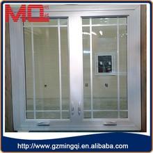 cheap pvc profile casement windows grills design pictures