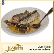Halal Best Canned Sardines Preservatives in Olive Oil