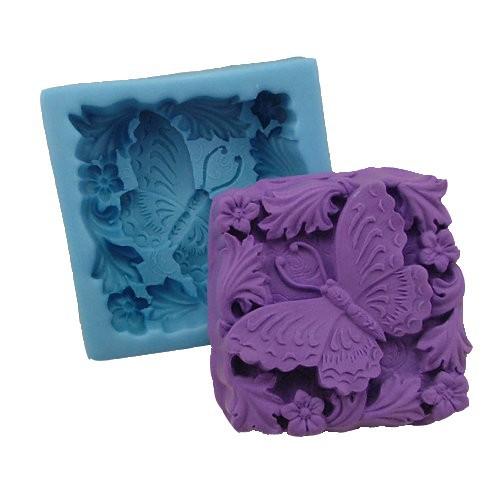 R0816 Николь бабочка мыла силиконовые формы