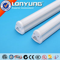 rgb led strip t8 integrated fluorescent tubes lamps ETL CE SAA DLC C-Tick RoHS UL listed 3 years warranty