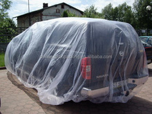 PE Clear Disposable Plastic Automastic Car Covers