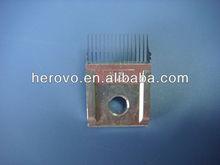 Tejer la urdimbre de repuesto parte hks máquina para hacer punto s-16-86-42 platinas
