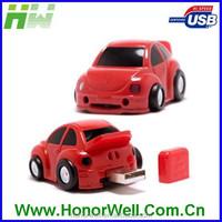 Classic Car Shape Plastic Usb Flash Drive Drive Thumb Memory