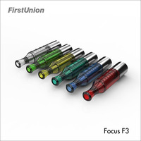 New product cigarette electronic Focus F3 transparent Pre-filled tank japan electronic cigarette