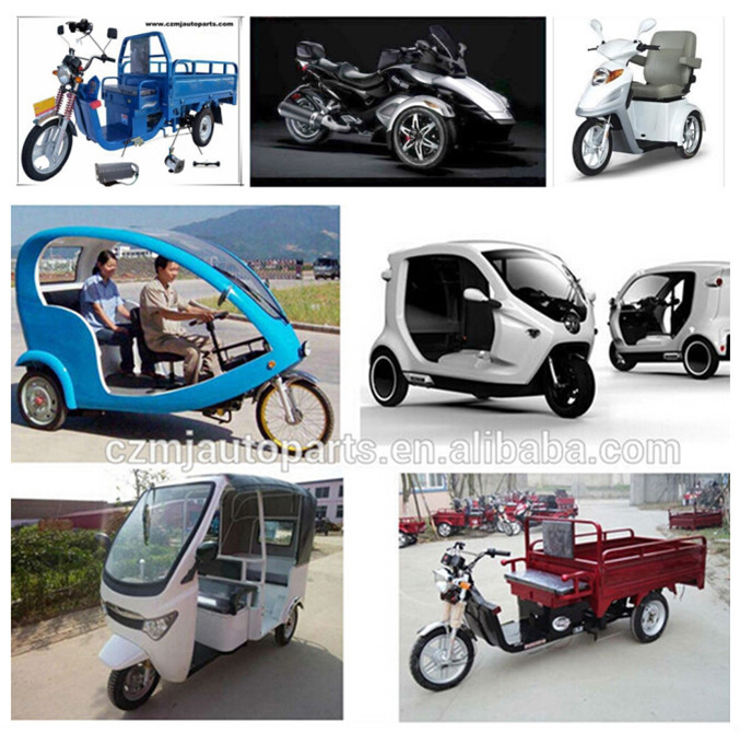 2015 brush 24V dc motor price for electric tricycle