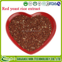 2015 alibaba golden supplier wholesale food supplement red yeast rice extract/ red yeast rice