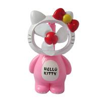 Hello Kitty Rechargeable Cooling Fan/ Mini Fan/ Portable Small Fan with Flat Plug