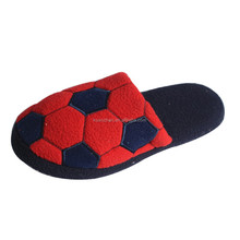 Pink women winter boys football Slipper
