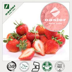 2015 GMP Factory Supply Strawberry juice Powder/Strawberry fruit Powder/Strawberry